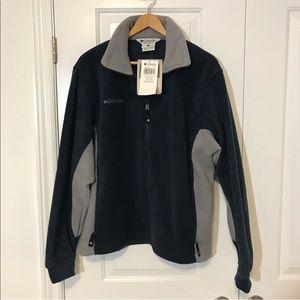 New COLUMBIA Full Zip Fleece Jacket